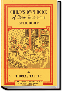 Franz Schubert: The Story of the Boy Who Wrote Beautiful Songs by Thomas Tapper