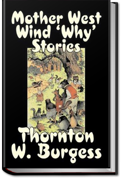 Mother West Wind 'Why' Stories by Thornton W. Burgess