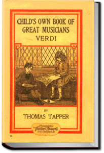 Verdi: The Story of the Boy who Loved the Hand Organ by Thomas Tapper
